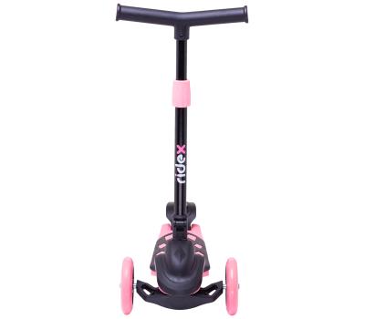 Самокат 3-колесный Robin 3D 120/90 мм, розовый, фото 3