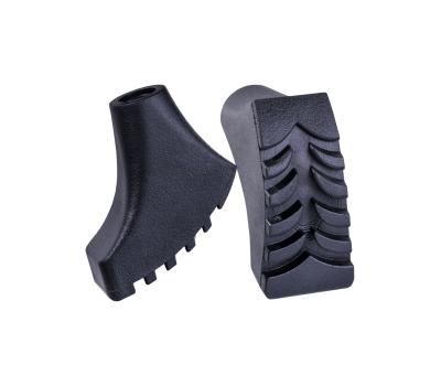 Комплект наконечников для скандинавских палок, 2 шт., чёрный, фото 1