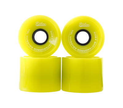 Комплект колес для лонгборда SB, зеленый, 4 шт., фото 2