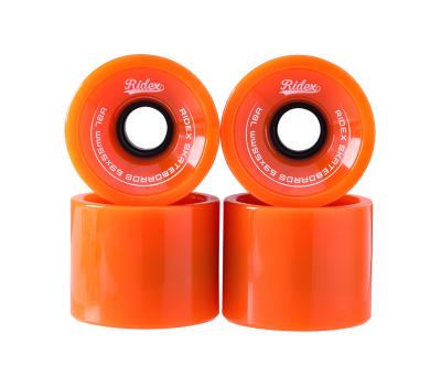 Комплект колес для лонгборда SB, оранжевый, 4 шт., фото 2