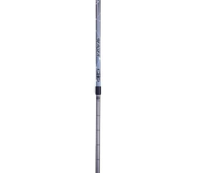 Палки для скандинавской ходьбы Starfall, 77-135 см, 2-секционные, серый/чёрный/белый, фото 2
