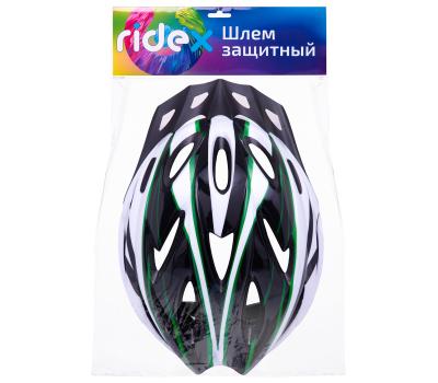 Шлем защитный Carbon, зеленый, фото 4