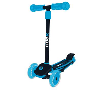 Самокат 3-колесный Spike 3D 120/100 мм, синий, фото 1