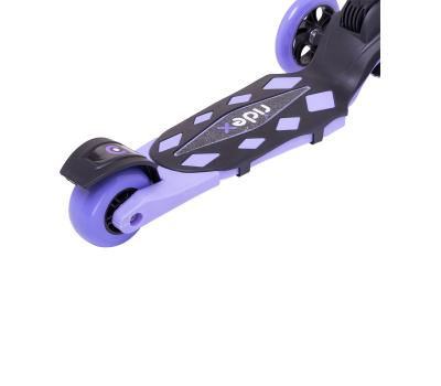 Самокат 3-колесный Robin 3D 120/90 мм, фиолетовый, фото 6