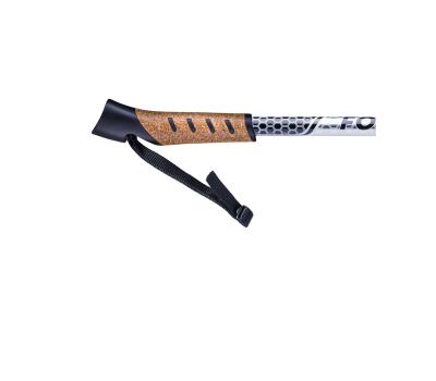 Палки для скандинавской ходьбы Forester, 67-135 см, 3-секционные, серый/чёрный, фото 4