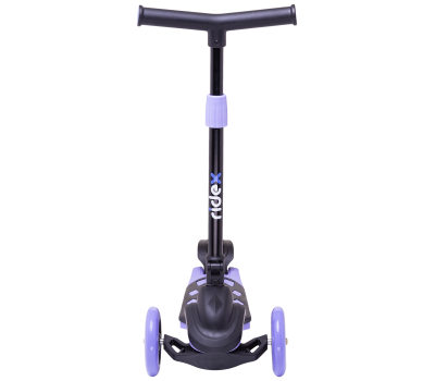 Самокат 3-колесный Robin 3D 120/90 мм, фиолетовый, фото 2