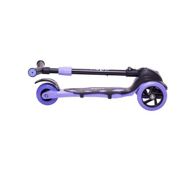 Самокат 3-колесный Robin 3D 120/90 мм, фиолетовый, фото 7