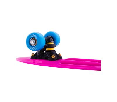 Круизер пластиковый Princess, 17''x5'', Abec-7 Carbon, фото 3