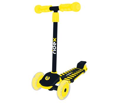 Самокат 3-колесный Spike 3D 120/100 мм, желтый, фото 1