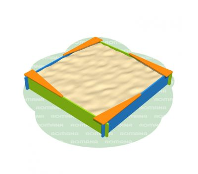 Песочница «Romana 109.26.00» сине/зелёный, фото 1