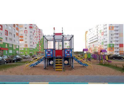 Детская площадка Пароход «Romana 101.28.00», фото 6