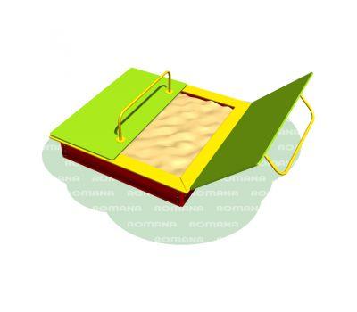Песочница с крышкой «Romana 109.22.00», фото 1
