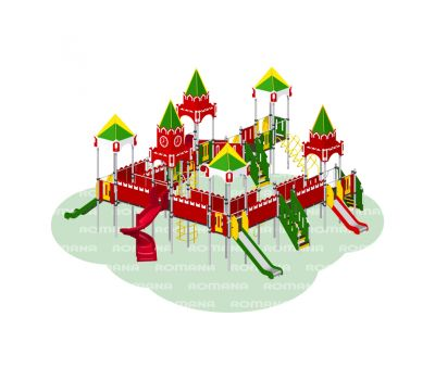Детская площадка Кремль «Romana 101.29.00», фото 1