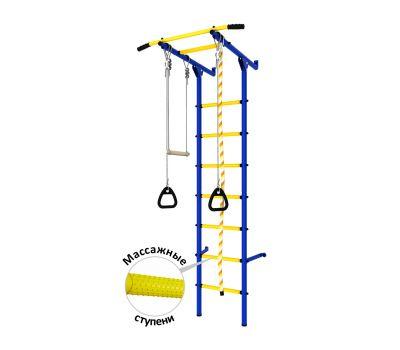 DSK Пристенный (с массажными ступенями) Синий/Желтый ДСКМ-2С-7.06.Г3.410.14-24, фото 1