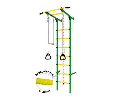 DSK Пристенный (с массажными ступенями) Зеленый/Желтый ДСКМ-2С-7.06.Г3.410.14-24, фото 1