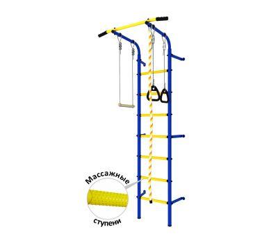 DSK Пристенный с регулировкой (с массажными ступенями) Синий/Желтый ДСКМ-2С-7.06.Г1.410.14-24, фото 1