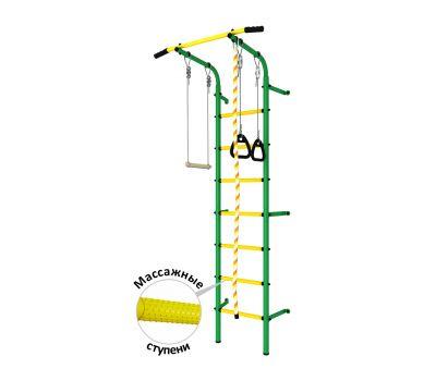 DSK Пристенный с регулировкой (с массажными ступенями) Зеленый/Желтый ДСКМ-2С-7.06.Г1.410.14-24, фото 1