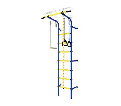 DSK Пристенный с регулировкой (с массажными ступенями) Синий/Желтый ДСКМ-2С-7.06.Г1.410.14-24, фото 2