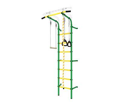 DSK Пристенный с регулировкой (с массажными ступенями) Зеленый/Желтый ДСКМ-2С-7.06.Г1.410.14-24, фото 2
