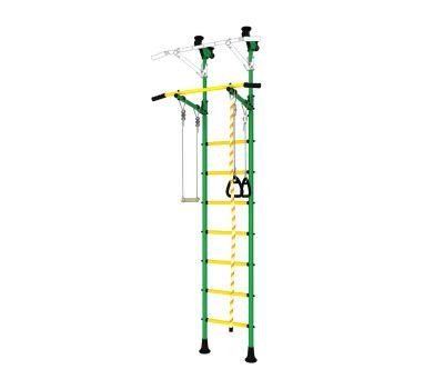 DSK Распорный с регулировкой (с массажными ступенями) Зеленый/Желтый ДСКМ-2-7.06.Г6.410.14-24, фото 2