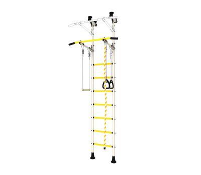 DSK Распорный с регулировкой (с массажными ступенями) Белый/Желтый ДСКМ-2-7.06.Г6.410.14-24, фото 2
