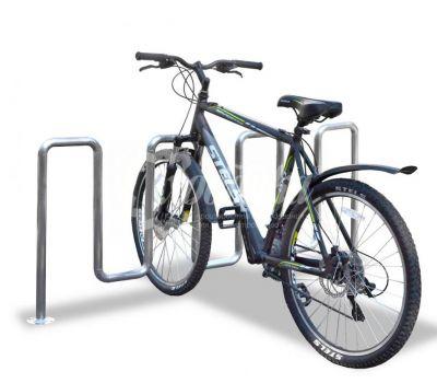Велопарковка «Квадро» из нержавеющей стали, фото 1