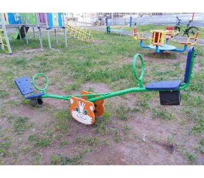 Качалка «Кошка» Romana 108.01.01 синяя, фото 3