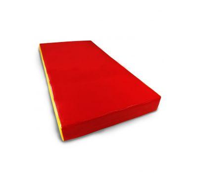 Мат № 1 (100 х 50 х 10) красно/жёлтый, фото 2