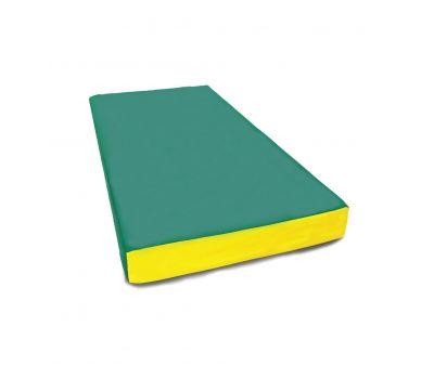 Мат № 1 (100 х 50 х 10) зелёно/жёлтый, фото 1
