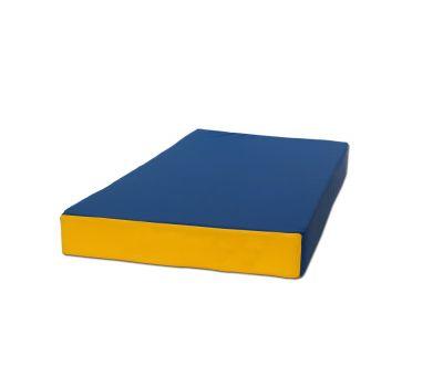 Мат № 1 (100 х 50 х 10) сине/жёлтый, фото 1
