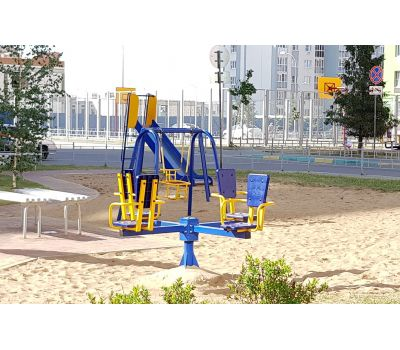 Карусель с сидениями Romana 108.26.00 сине/красная, фото 6
