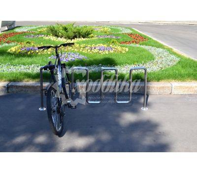 Велопарковка «Квадро» из нержавеющей стали, фото 7