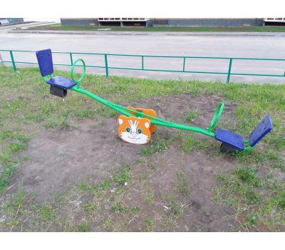 Качалка «Кошка» Romana 108.01.01 синяя, фото 4
