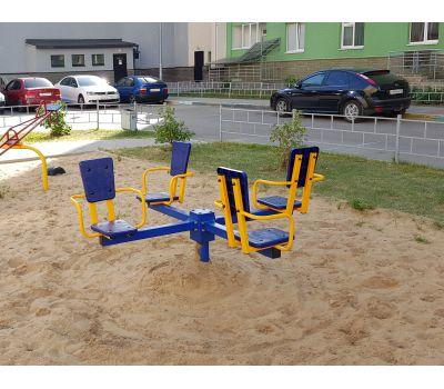 Карусель с сидениями Romana 108.26.00 сине/красная, фото 7