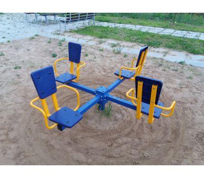 Карусель с сидениями Romana 108.26.00 сине/красная, фото 3
