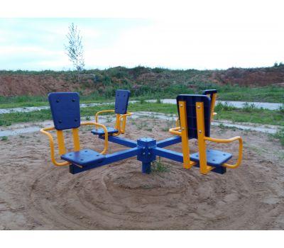 Карусель с сидениями Romana 108.26.00 сине/красная, фото 5