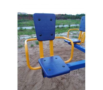 Карусель с сидениями Romana 108.26.00 сине/красная, фото 4