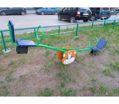 Качалка «Кошка» Romana 108.01.01 синяя, фото 2