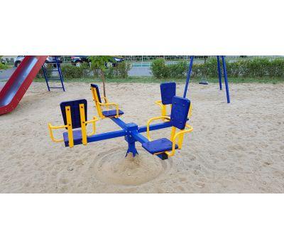 Карусель с сидениями Romana 108.26.00 сине/красная, фото 10