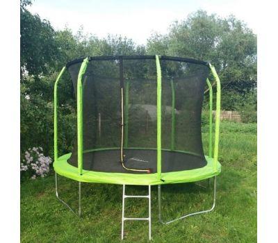 Батут Bondy Sport 10 ft 3,05 м с сеткой и лестницей (зеленый), фото 2