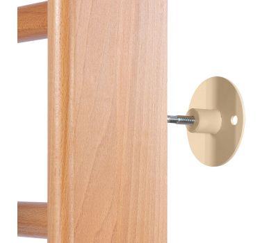Крепеж на деревянную шведскую стенку тип 2 (комплект 4шт), фото 2