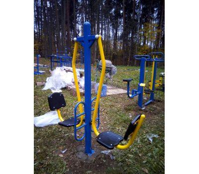 Тренажер для улицы Жим ногами сдвоенный  Air-Gym YT47, фото 2