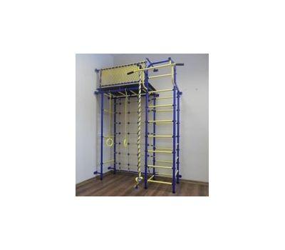Спортивно-игровой комплекс Пионер 10С сине/жёлтый, фото 1