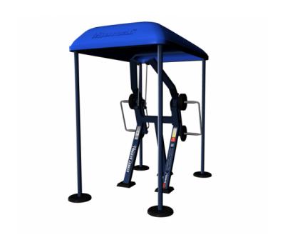 Веревочная вертикальная тяга стоя с изменяемой нагрузкой, фото 3