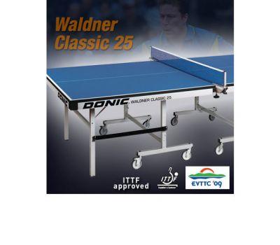 Теннисный стол DONIC WALDNER CLASSIC 25 GREEN (без сетки), фото 3