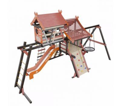Детская игровая деревянная площадка ХИЖИНА КОРСИКА Самсон, фото 1