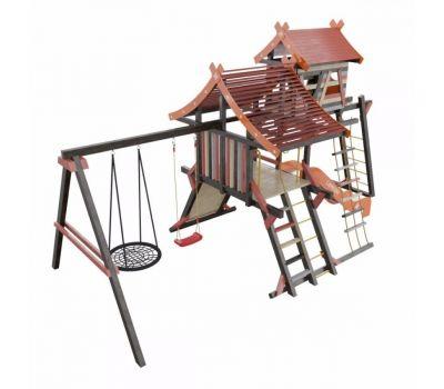 Детская игровая деревянная площадка ХИЖИНА КОРСИКА Самсон, фото 2