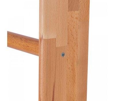 Шведская стенка из дерева Бук СТАНДАРТ (перекладины из березы) 260см, фото 3