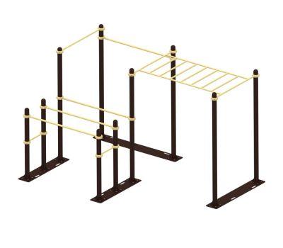 Мобильный комплекс для Воркаут Air-Gym  Стандарт-11, фото 2