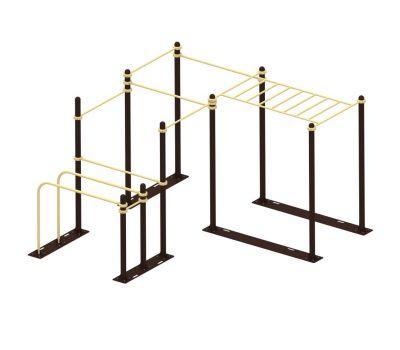 Мобильный комплекс для Воркаут Air-Gym Стандарт-8, фото 2